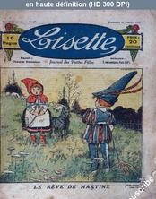 LISETTE numéro 27 du 15 janvier 1922