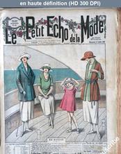LE PETIT ECHO DE LA MODE  numéro 29 du 17 juillet 1921
