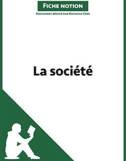 La société - Fiche notion