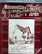 MAISONNETTE ET JARDIN numéro 38 du 20 mai 1926
