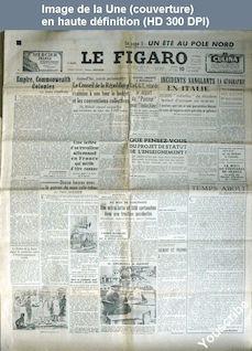 LE FIGARO  numéro 1660 du 10 janvier 1950