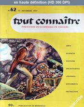 TOUT CONNAITRE numéro 62 du 30 novembre 1957
