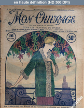 MON OUVRAGE numéro 112 du 15 octobre 1927