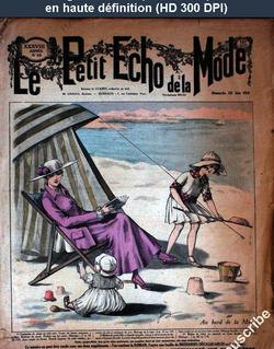 LE PETIT ECHO DE LA MODE  numéro 26 du 25 juin 1916