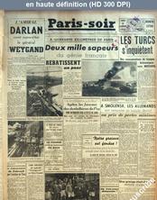 PARIS SOIR numéro 399 du 09 août 1941