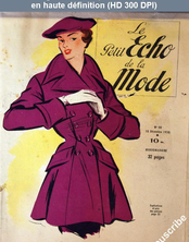 Le PETIT ECHO DE LA MODE  numéro 50 du 10 décembre 1950