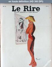 LE RIRE  numéro 47 du 01 août 1955