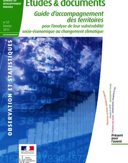 Guide d'accompagnement des territoires pour l'analyse de leur vulnérabilité socio-économique au changement climatique.