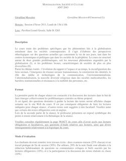ANT 2043 Géraldine Mossière Geraldine.Mossiere@Umontreal.Ca ...