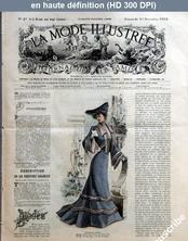 LA MODE ILLUSTREE  numéro 47 du 23 novembre 1902