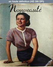 NOUVEAUTE numéro 23 du 09 juin 1940