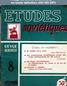 ETUDES SOVIETIQUES numéro 8 du 01 décembre 1948