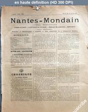 NANTES MONDAIN numéro 53 du 15 août 1891