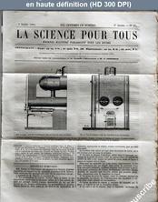 LA SCIENCE POUR TOUS  numéro 32 du 07 juillet 1864