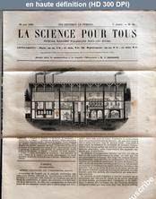 LA SCIENCE POUR TOUS  numéro 30 du 28 juin 1860