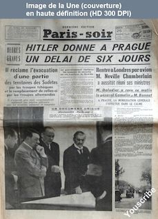 PARIS SOIR du 25 septembre 1938