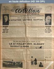 AVIATION AUTOMOBILE numéro 37 du 26 juillet 1939