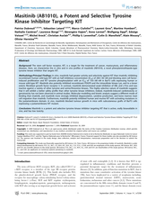 Masitinib (AB1010), a Potent and Selective Tyrosine Kinase Inhibitor Targeting KIT
