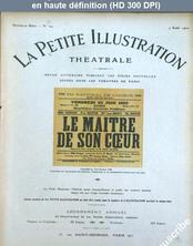 LA PETITE ILLUSTRATION THEATRE  numéro 24 du 07 août 1920