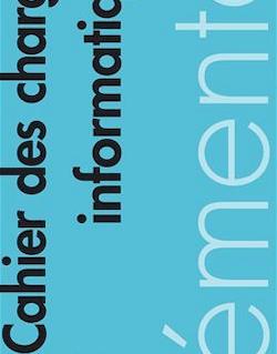 Mémento - Cahier des charges informatique