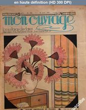 MON OUVRAGE numéro 340 du 15 avril 1937