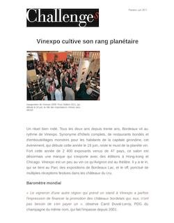 Vinexpo cultive son rang planétaire