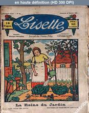 LISETTE numéro 16 du 30 octobre 1921