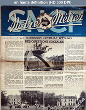 NOTRE METIER LA VIE DU RAIL numéro 46 du 08 février 1946