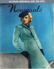 NOUVEAUTE numéro 22 du 02 juin 1940