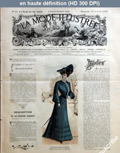 LA MODE ILLUSTREE  numéro 41 du 12 octobre 1902