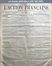 L' ACTION FRANCAISE  numéro 317 du 12 novembre 1916