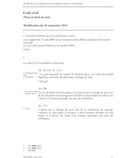 Projet de la Commission de rédaction pour le vote final