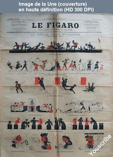 LE FIGARO  numéro 9 du 03 mars 1883