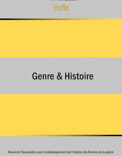 4 | 2009 - Varia - Genre & Histoire