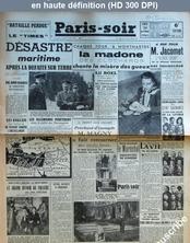 PARIS SOIR numéro 306 du 26 avril 1941