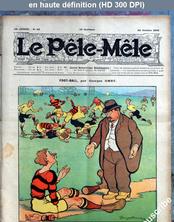 LE PELE MELE  numéro 43 du 24 octobre 1909