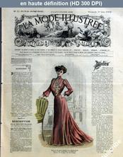 LA MODE ILLUSTREE  numéro 22 du 01 juin 1902