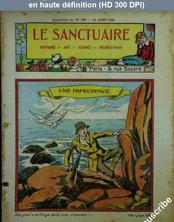 LE SANCTUAIRE  numéro 540 du 14 août 1932