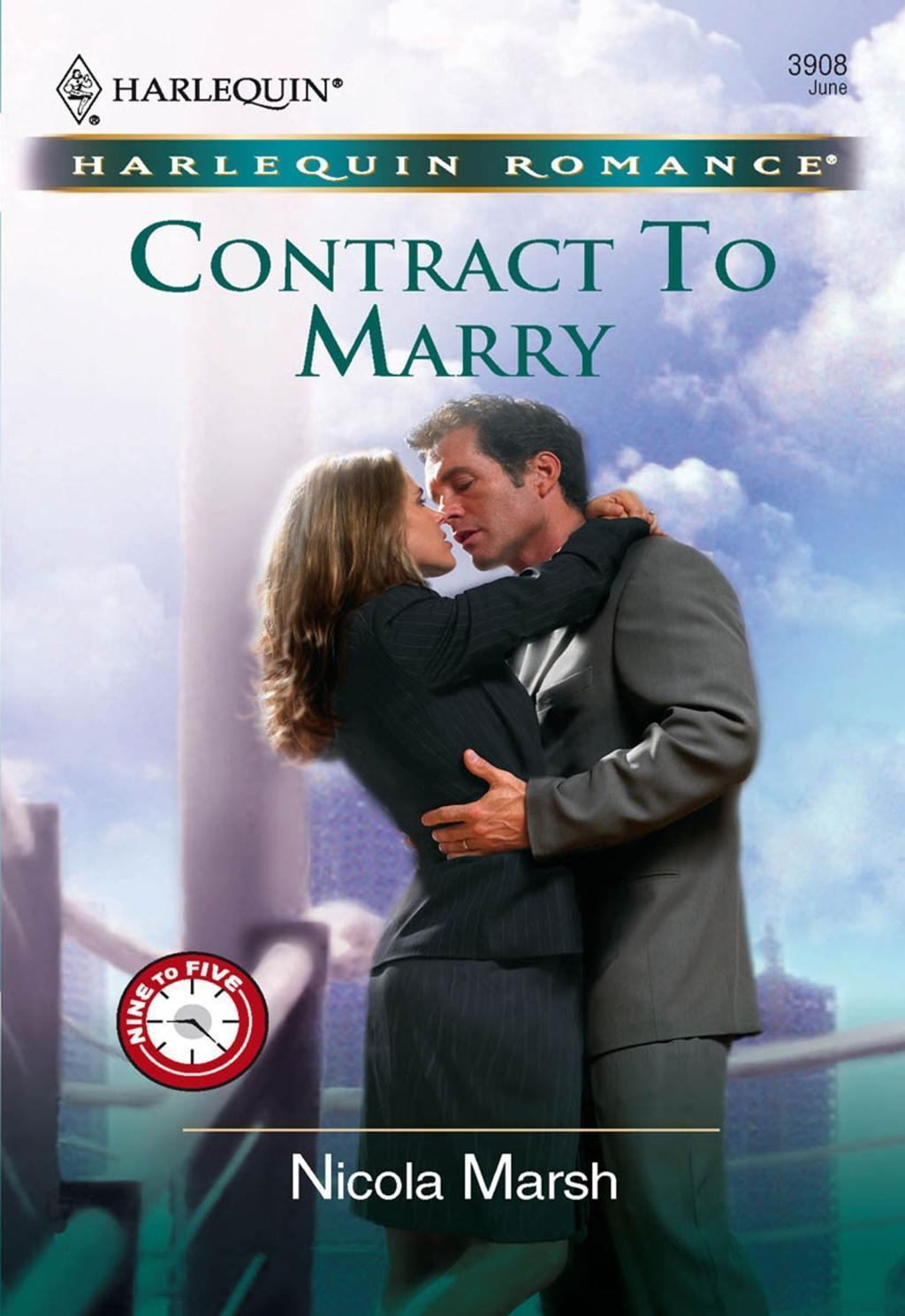 Contract To Marry (Mills & Boon Cherish)