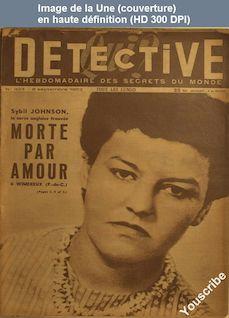 QUI DETECTIVE numéro 323 du 08 septembre 1952