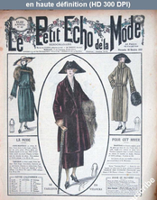 LE PETIT ECHO DE LA MODE  numéro 42 du 16 octobre 1921