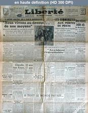LA LIBERTE  du 14 décembre 1948