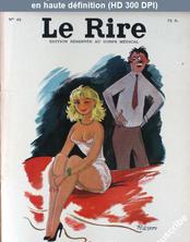 LE RIRE  numéro 45 du 01 juin 1955