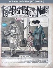 LE PETIT ECHO DE LA MODE  numéro 25 du 22 juin 1919