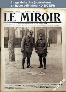 LE MIROIR  numéro 277 du 16 mars 1919