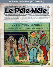LE PELE MELE  numéro 52 du 25 décembre 1910