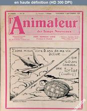 L' ANIMATEUR DES TEMPS NOUVEAUX  numéro 78 du 02 septembre 1927