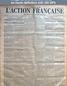 L' ACTION FRANCAISE  numéro 237 du 24 août 1916