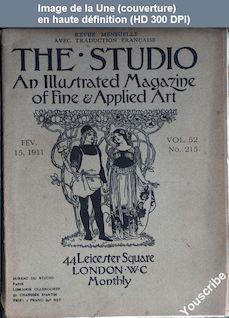 THE STUDIO  numéro 215 du 15 février 1911