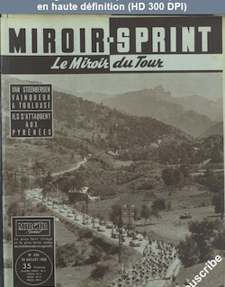 MIROIR SPRINT numéro 476 du 25 juillet 1955